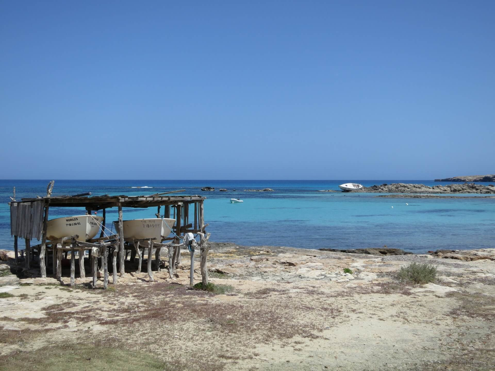 Boothut Formentera