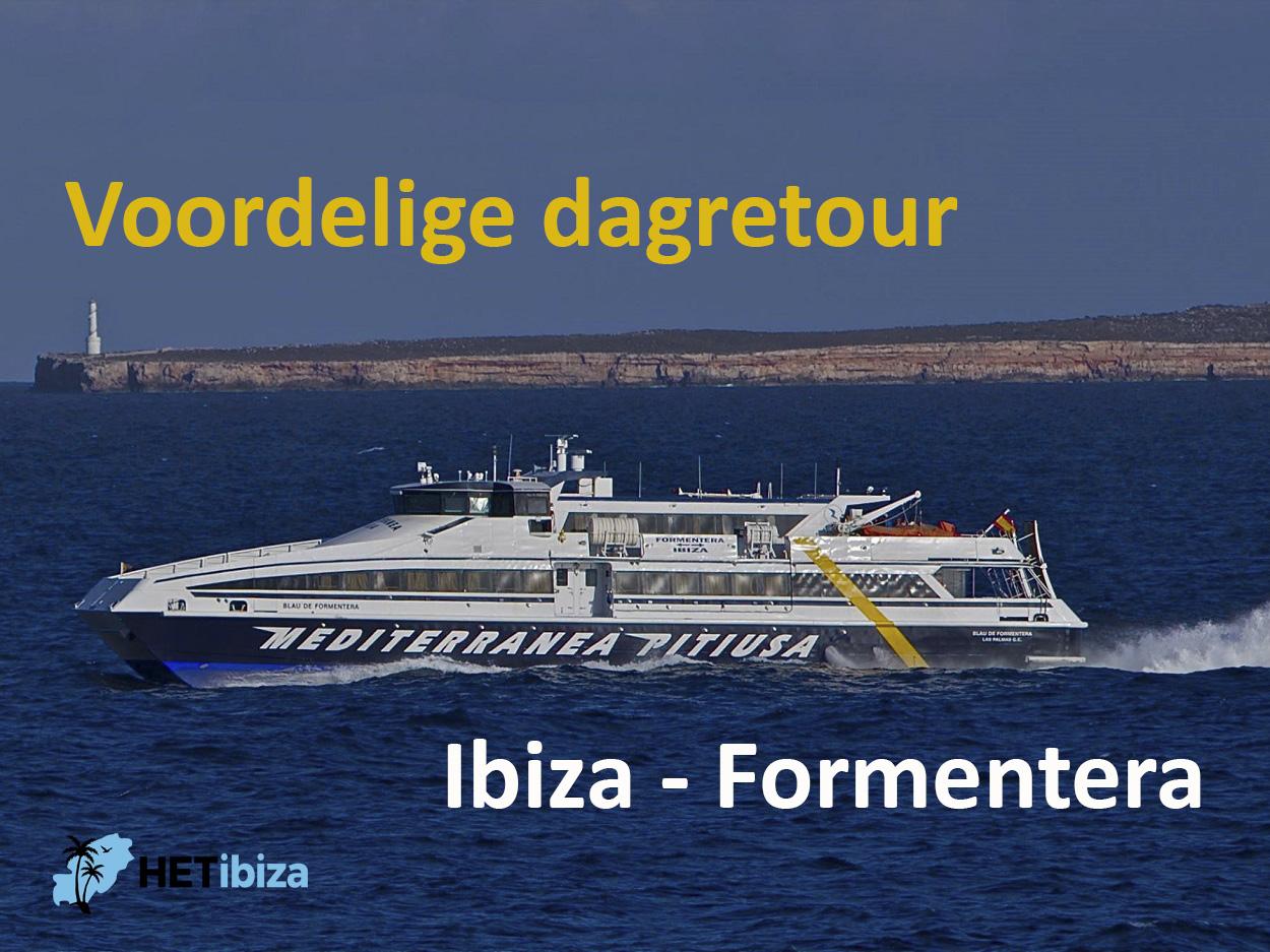 Dagretour Ibiza – Formentera