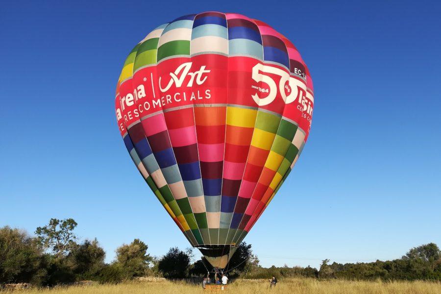 HETibiza ballonvaart over Ibiza