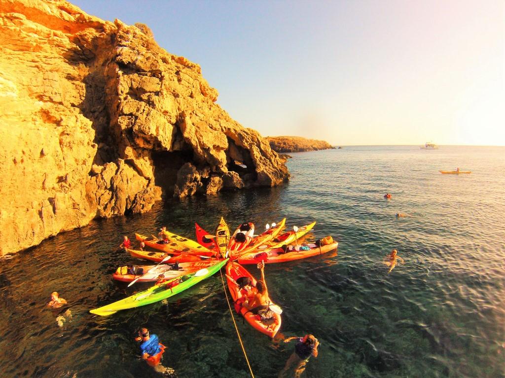 HETibiza kayak+snorkel