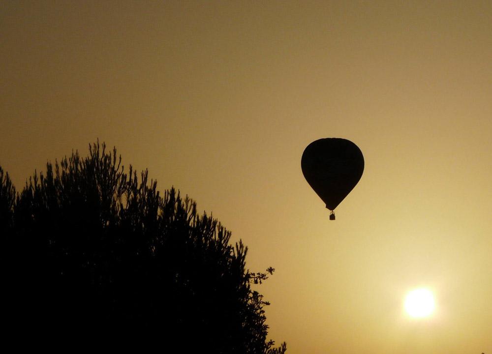 D. Ballonvaart Ibiza