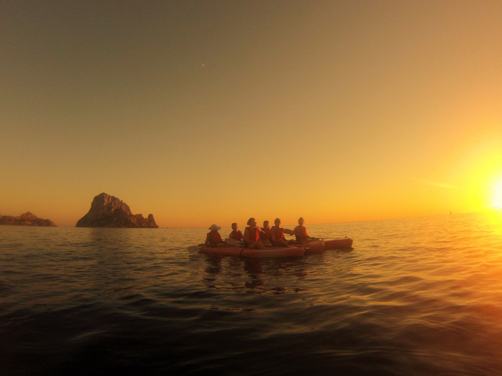 HETibiza kayak+sunset