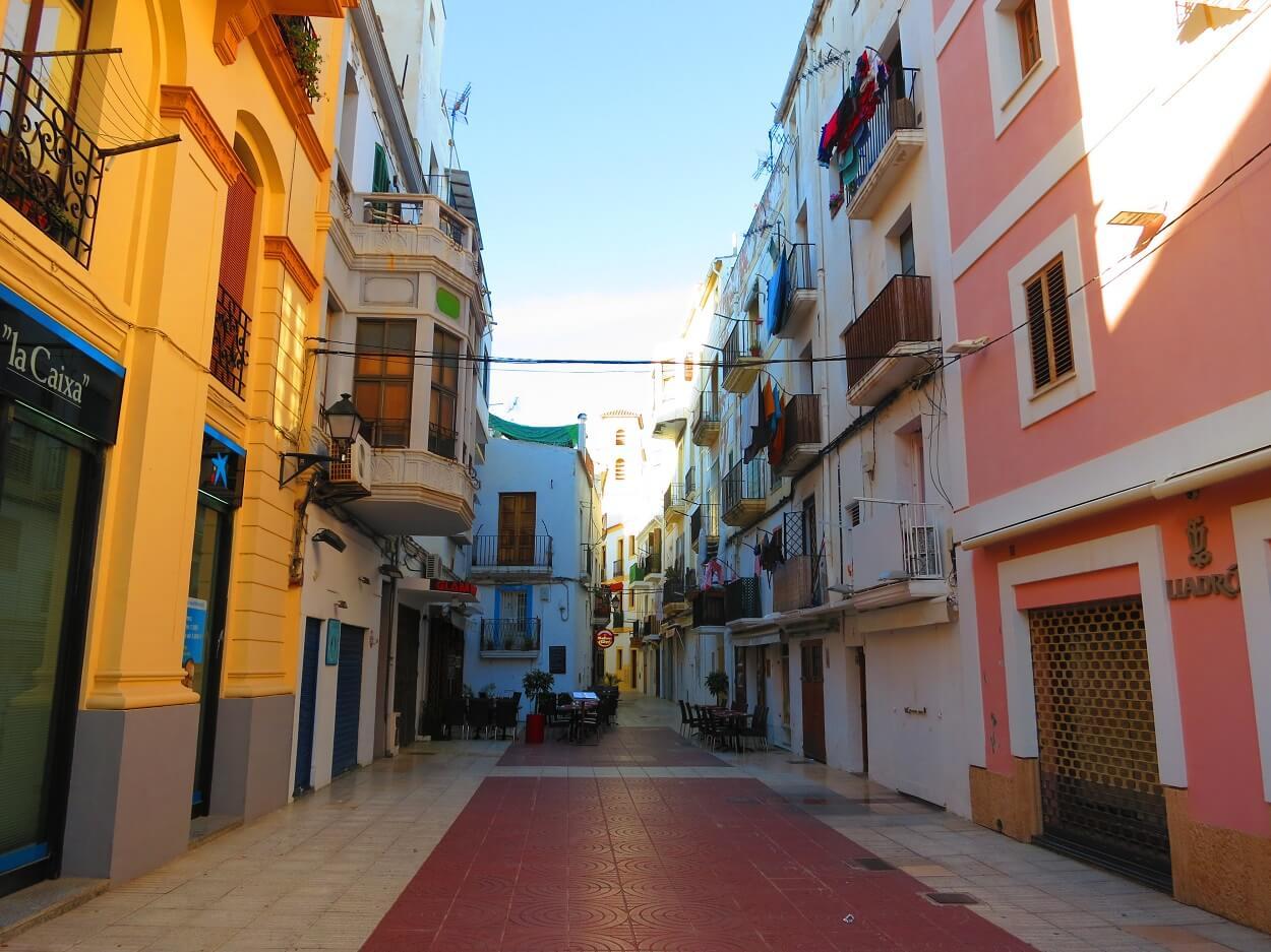 HETibiza streets of Eivissa
