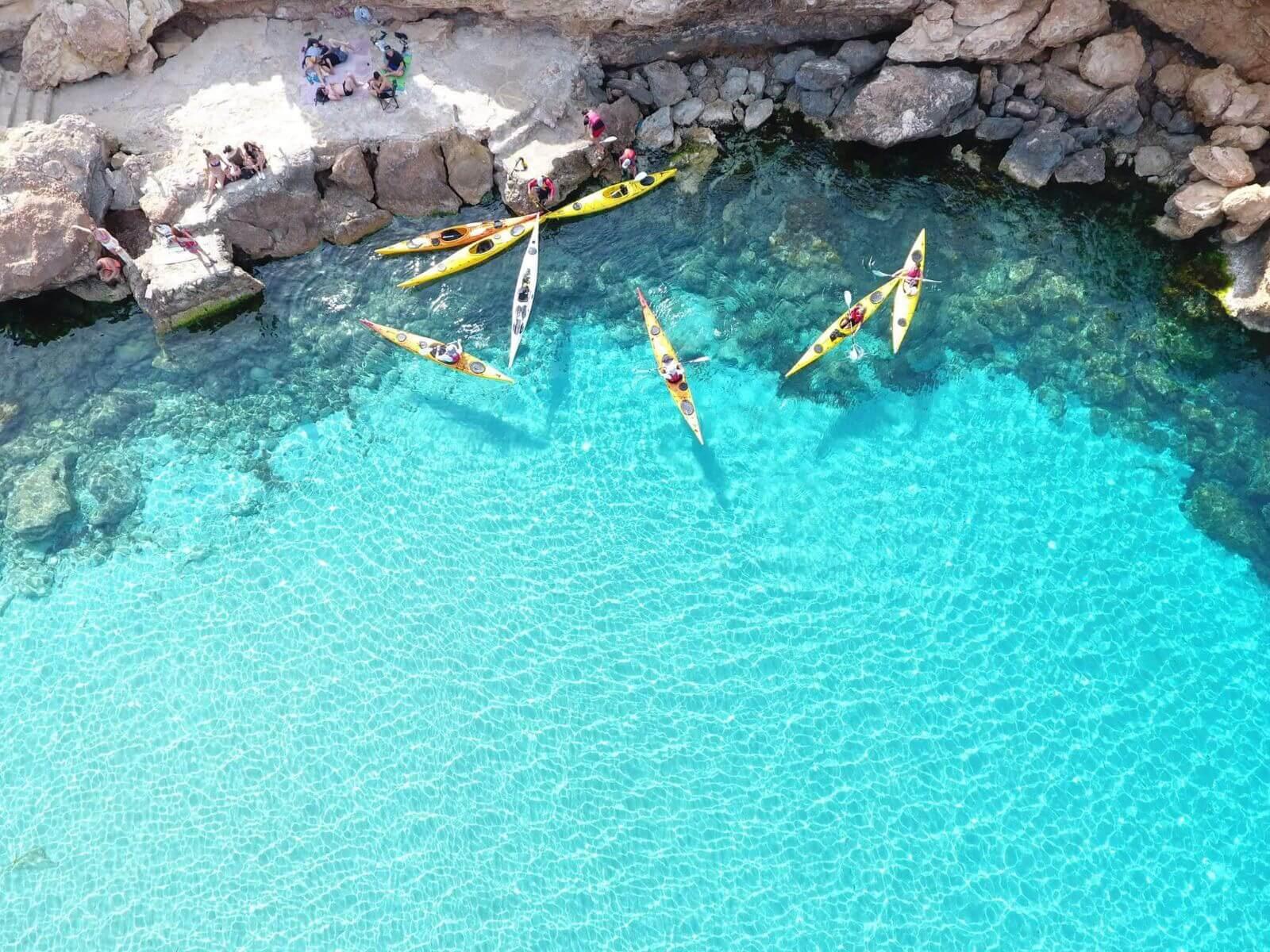HETibia Kayak excursie