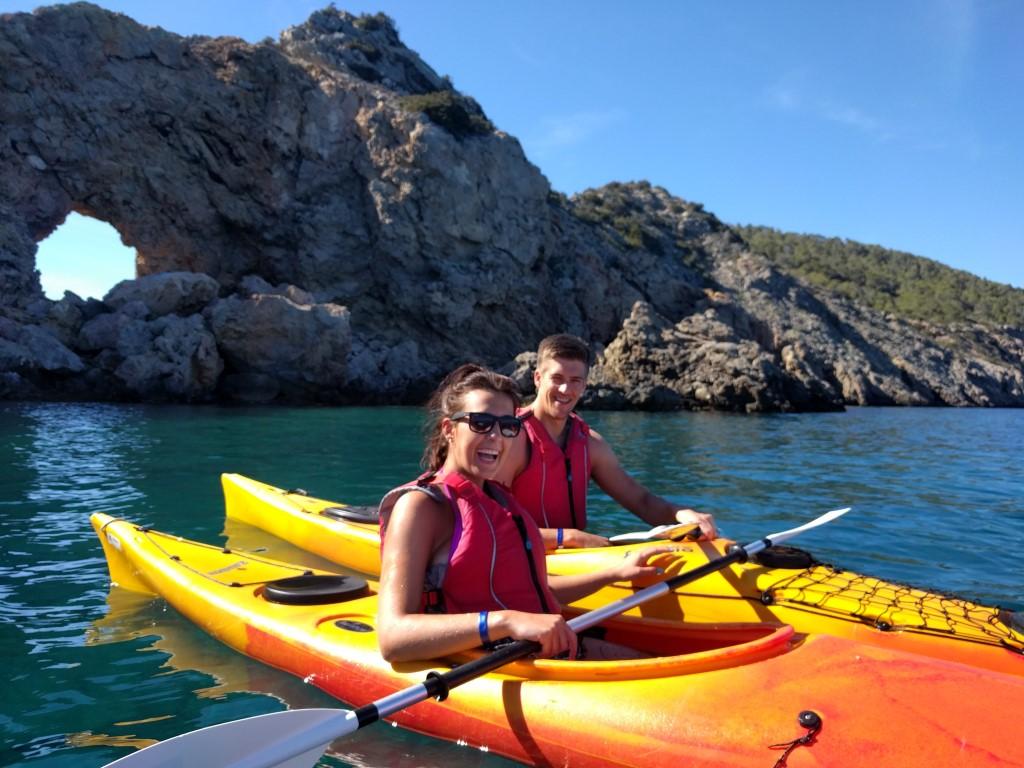 HET ibiza - Kayak tour
