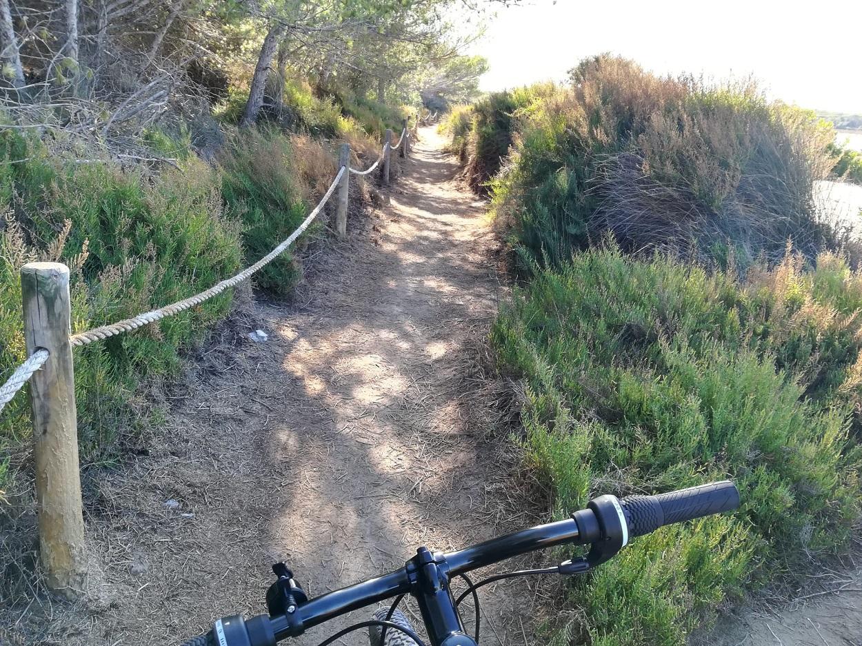 HETibiza Salines Mountainbike tour