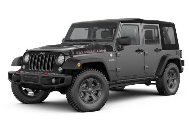 Type P1 - Jeep Wrangler Open & soortgelijk
