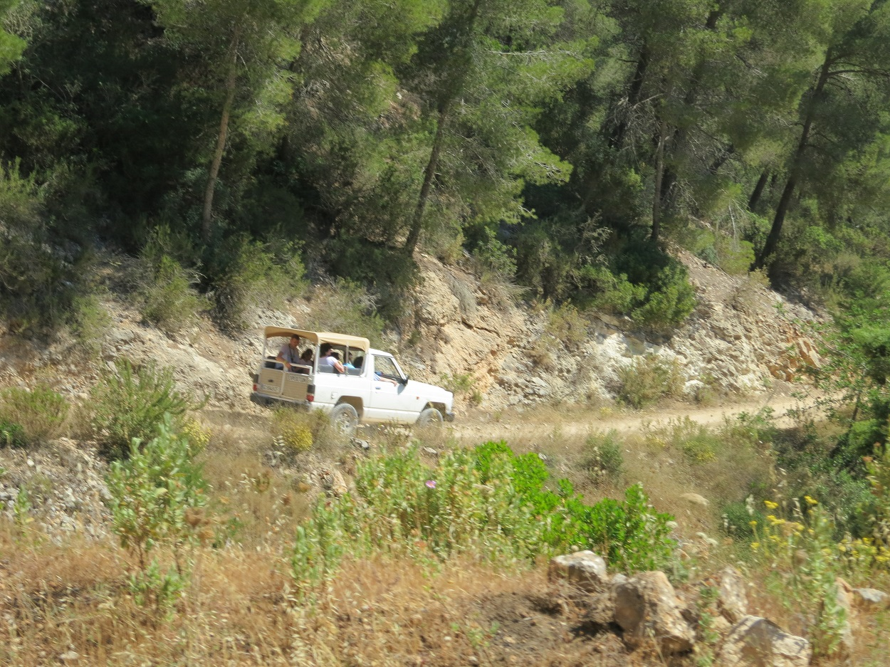 HETibiza Jeepsafari Ibiza natuurrijk