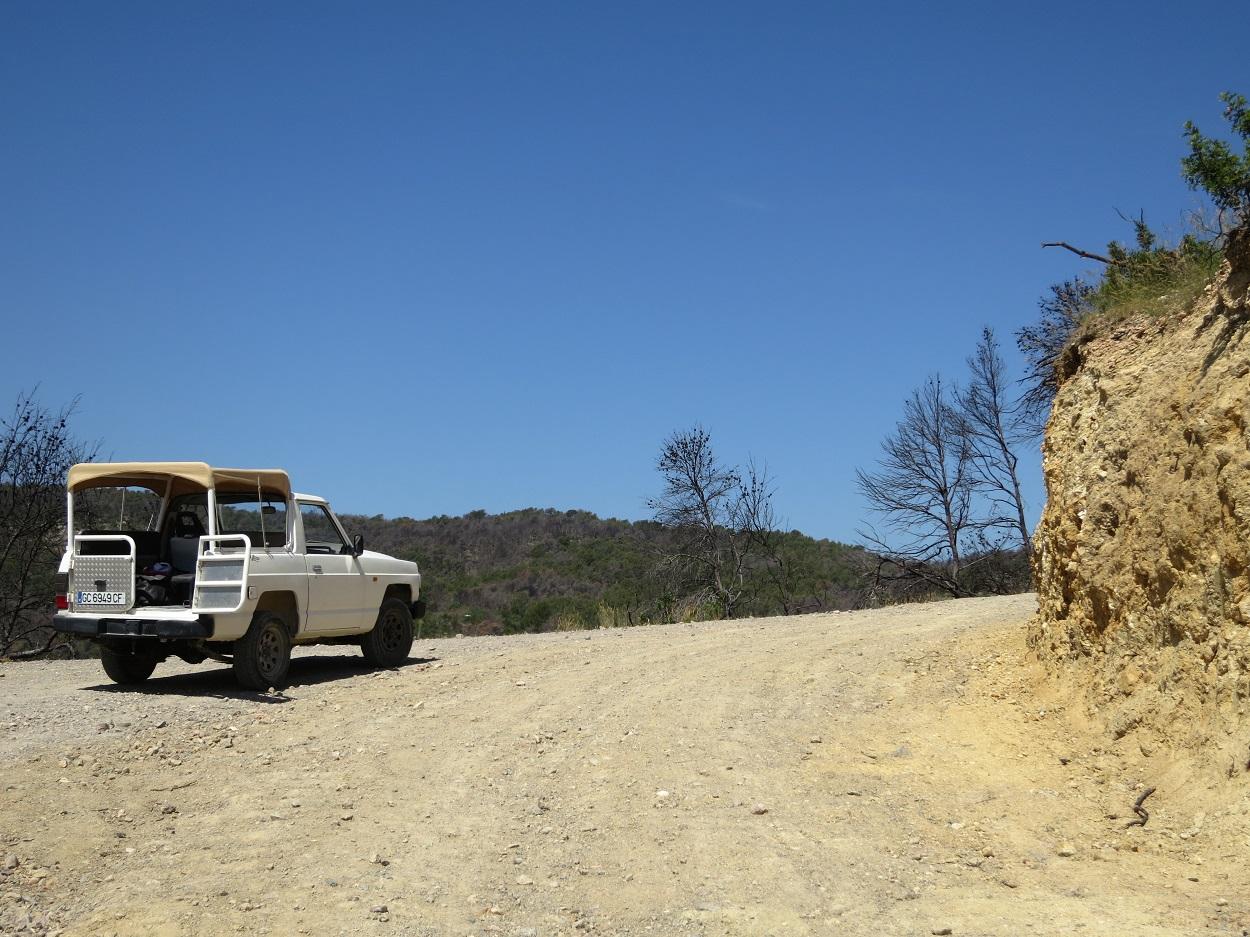HETibiza Jeepsafari Ibiza onverharde paden