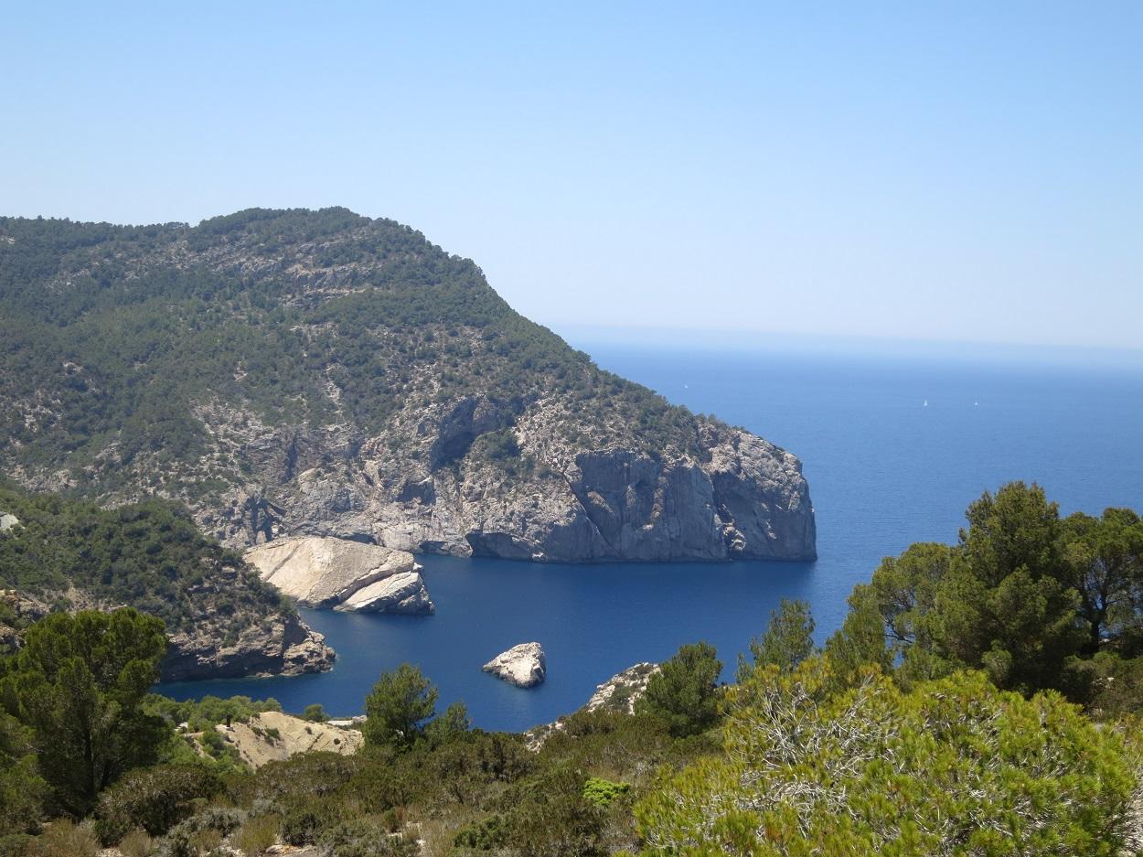 HETibiza Jeepsafari Ibiza uitzicht
