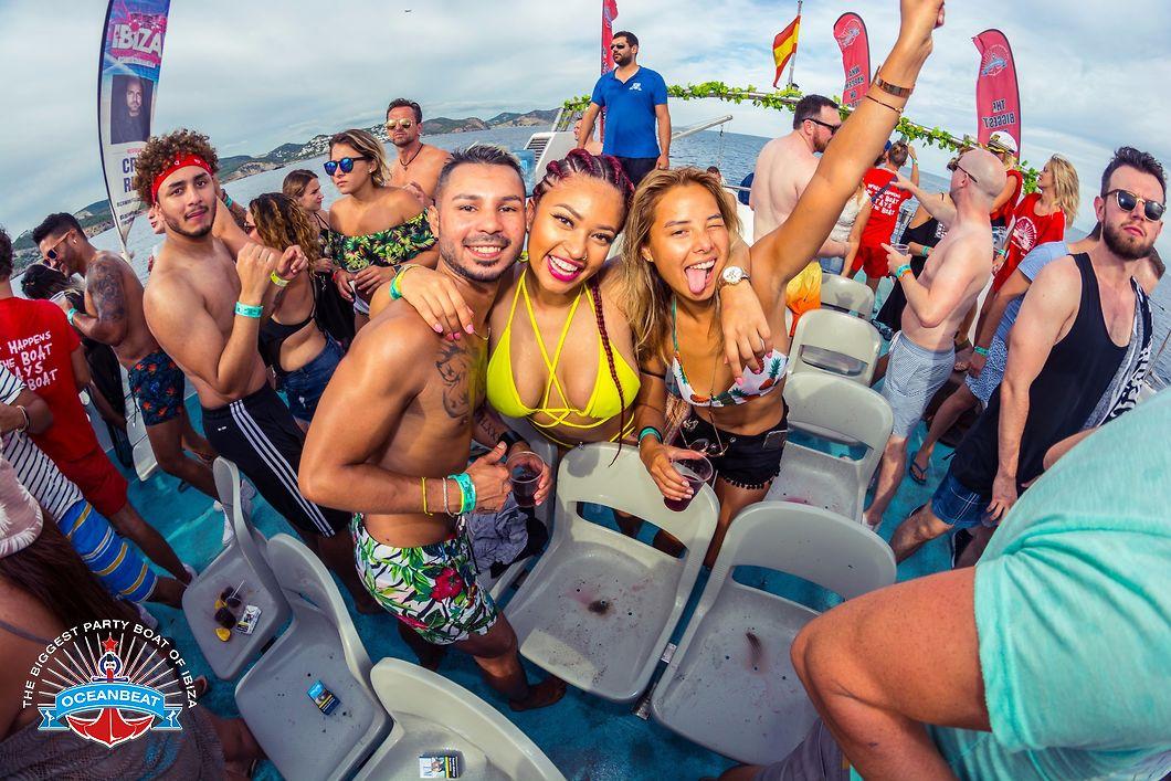 HETibiza Oceanbeat Partyboat