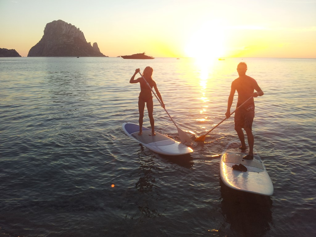 HETibiza Stand up Paddle tour