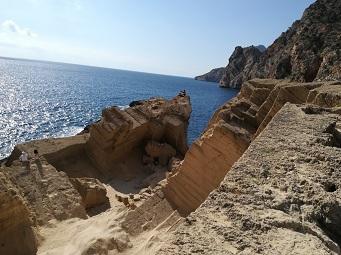 HETibiza wandelen naar Atlantis