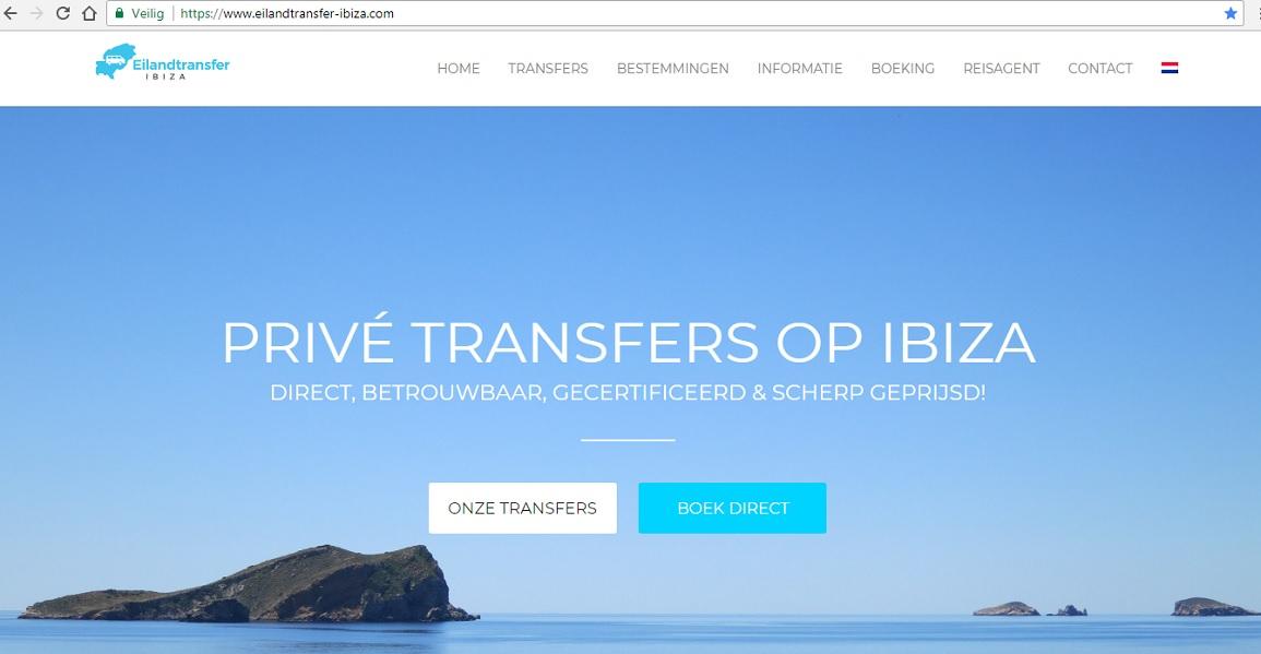 HETibiza Screenshot Eilandtransfer-ibiza