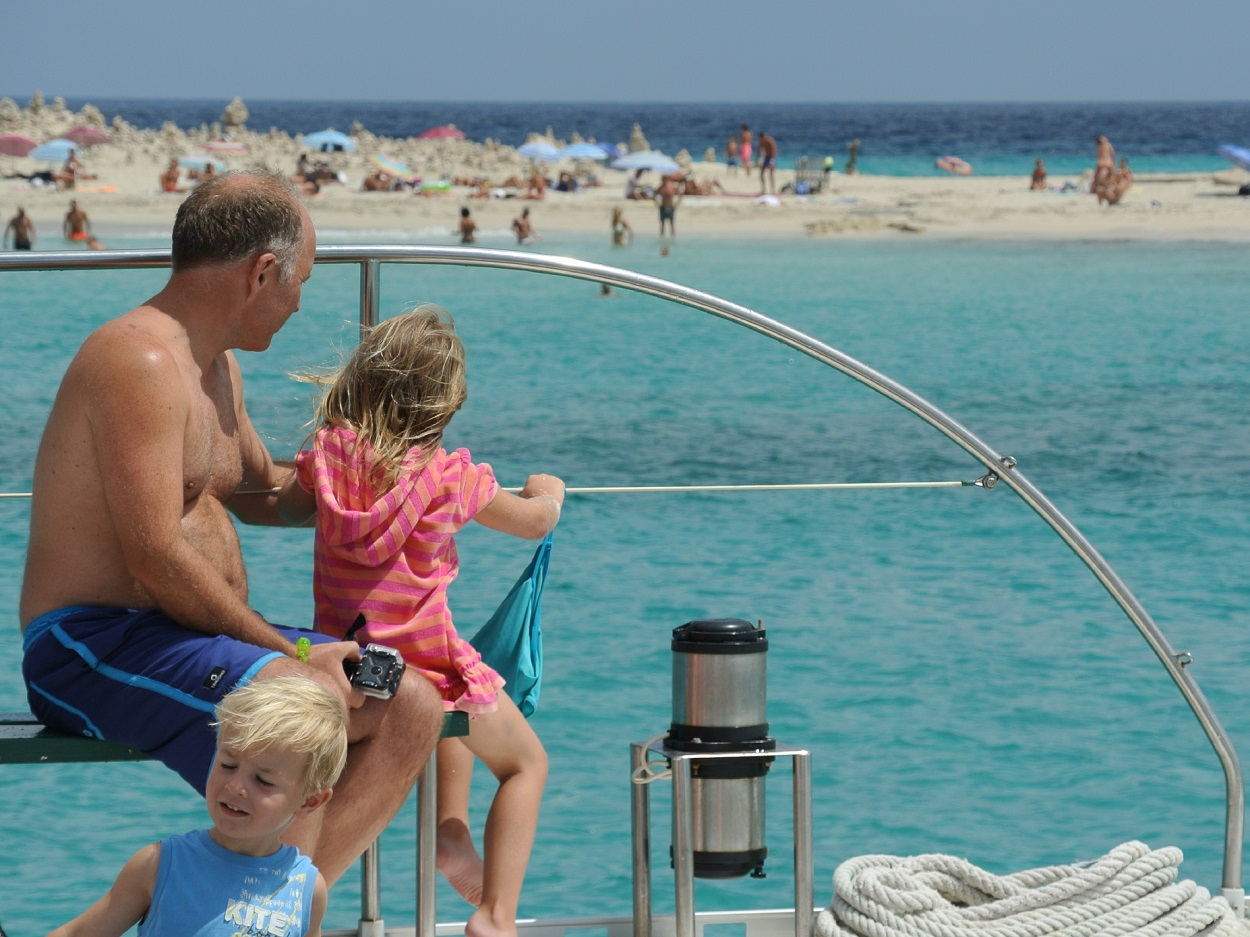 HETibiza Familie Catamaran Formentera