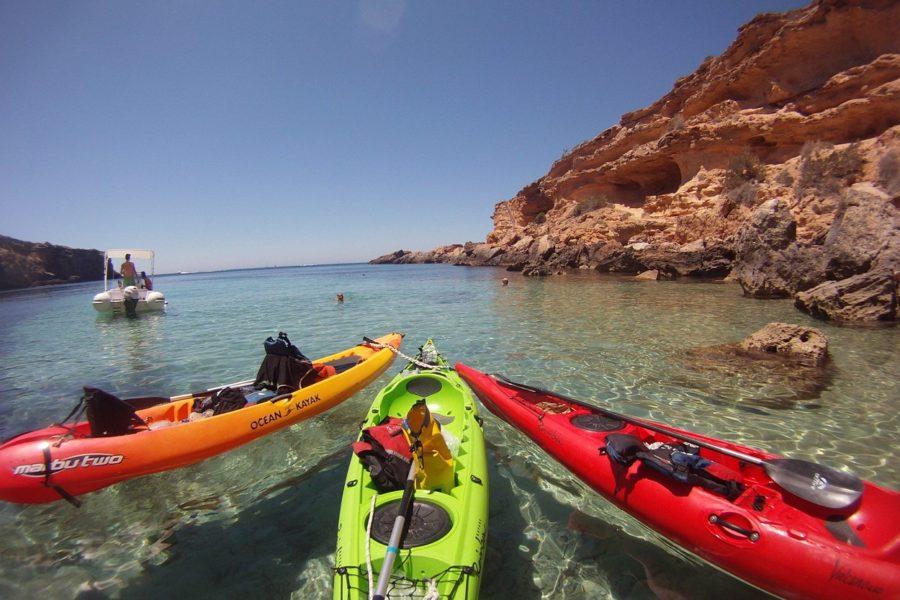 HETibiza Kayak tour