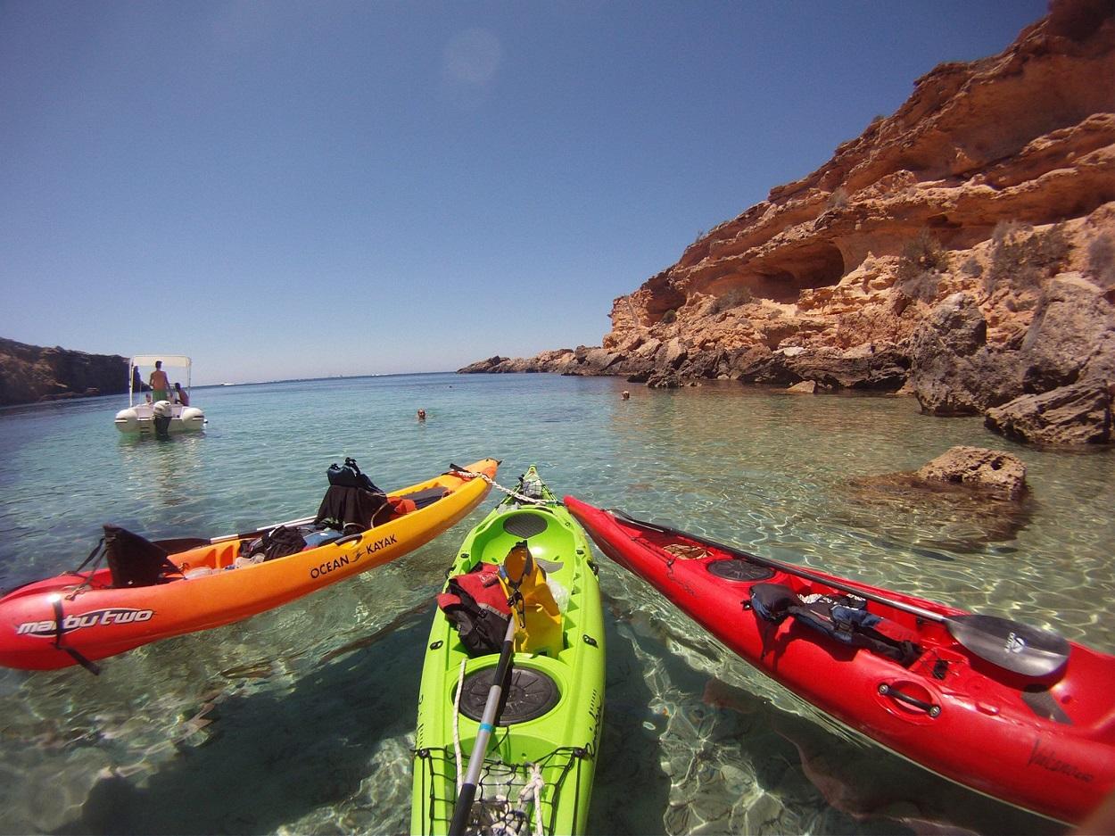 Kayak tour HETibiza