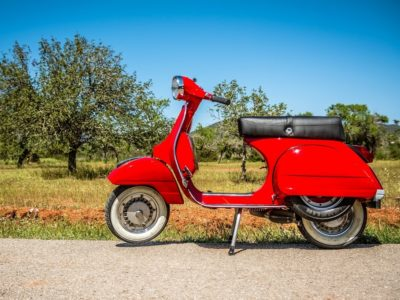 HETibiza Vespa tour