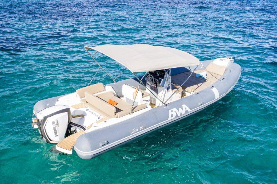 HETibiza motorboot BWA 26 Sport